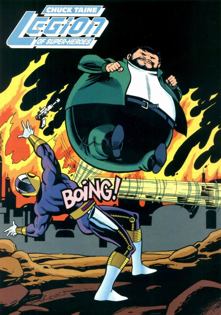 Who's Who in the DC Universe #9 - Chuck Taine (Bouncing Boy) by Ty Templeton