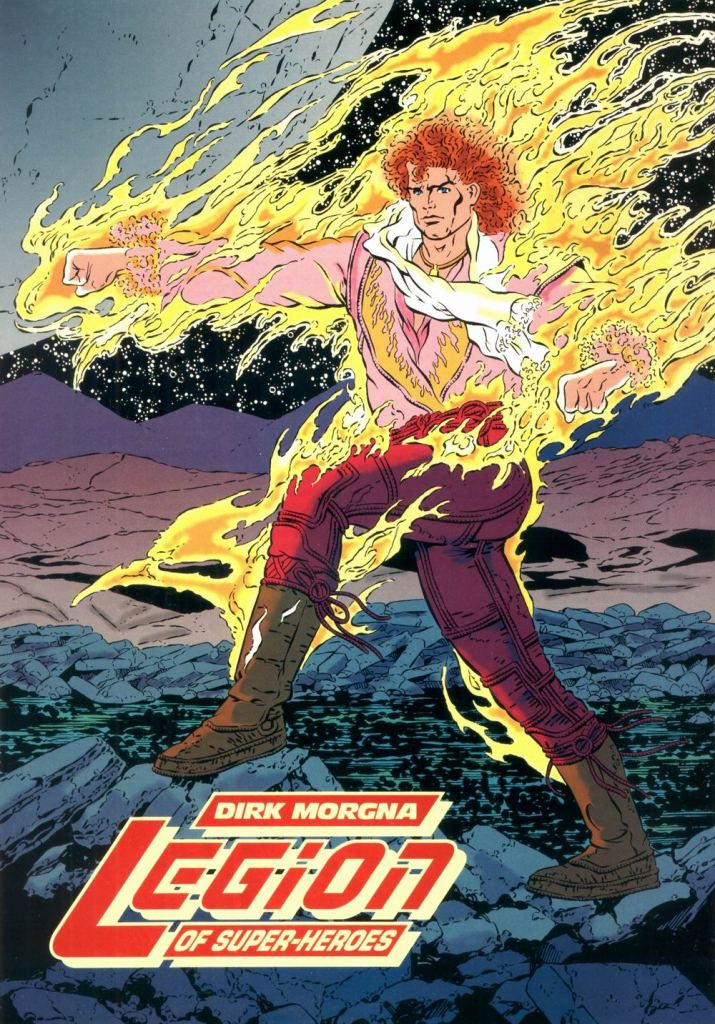 Who's Who in the DC Universe #9 - Dirk Morgna (Sun Boy) by Colleen Doran and Al Gordon