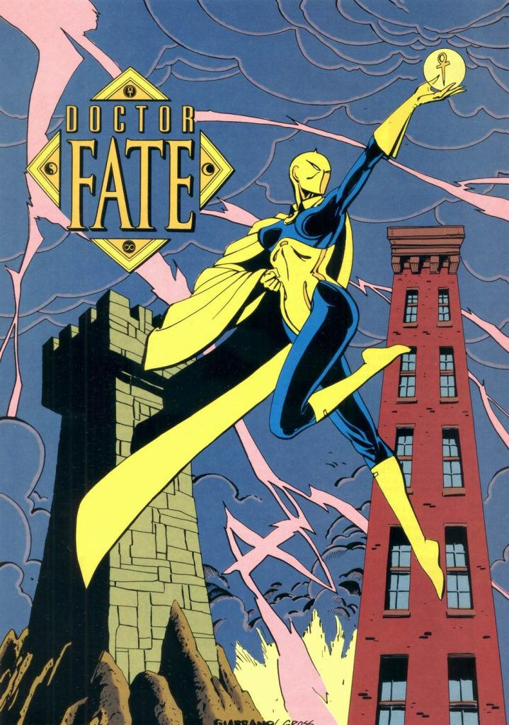 Who's Who in the DC Universe #9 - Doctor Fate by Vince Giarrano and Peter Gross