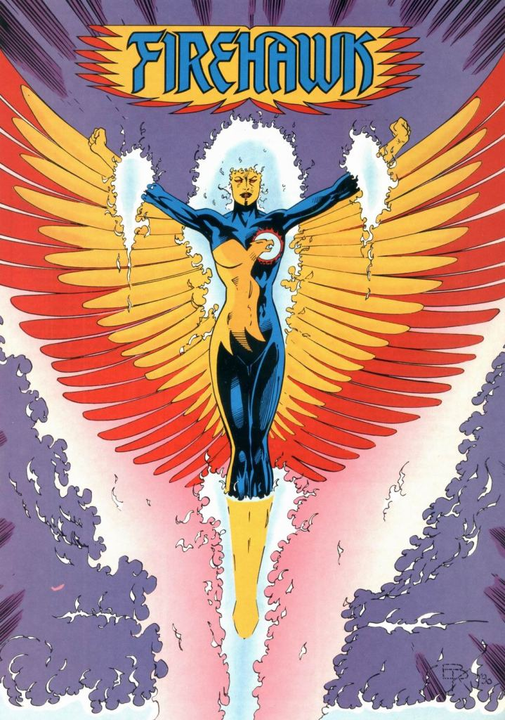 Who's Who in the DC Universe #9 - Firehawk by Barry Kitson