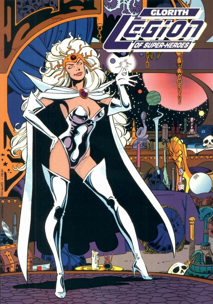 Who's Who in the DC Universe #9 - Glorith by Val Semeiks and Jose Marzan