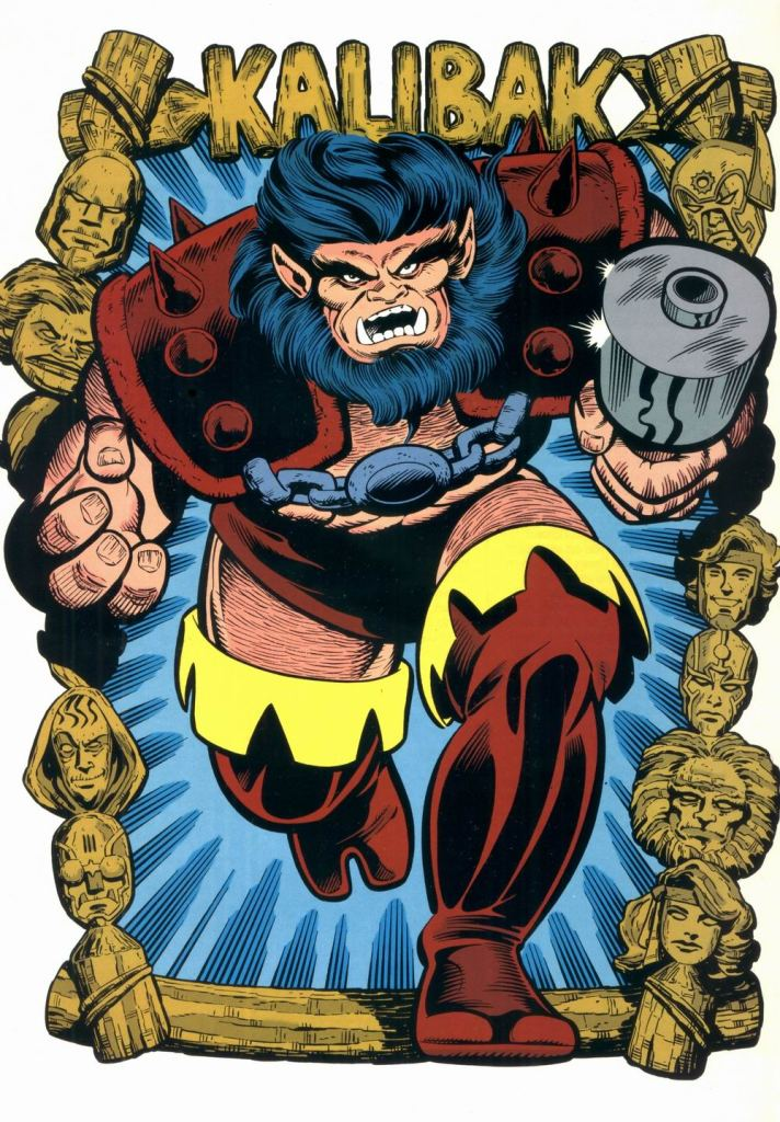Who's Who in the DC Universe #9 - Kalibak by Mike Parobeck and Willie Blyberg