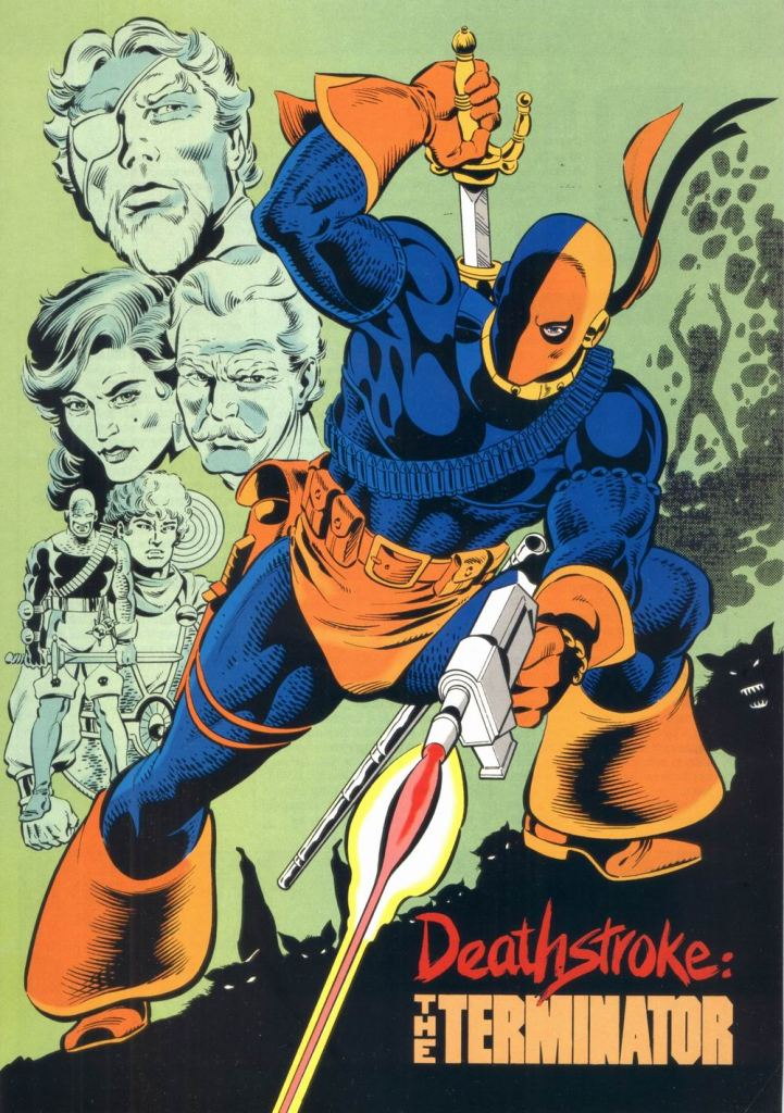 Who's Who in the DC Universe #9 - Deathstroke the Terminator by Steve Erwin and Willie Blyberg