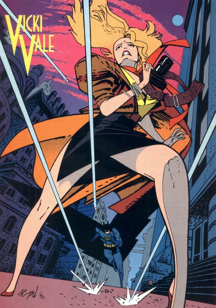 Who's Who in the DC Universe #9 - Vicki Vale by Marc Hempel