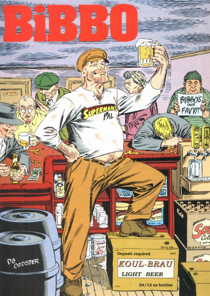 Who's Who in the DC Universe #12 - Bibbo by Jerry Ordway