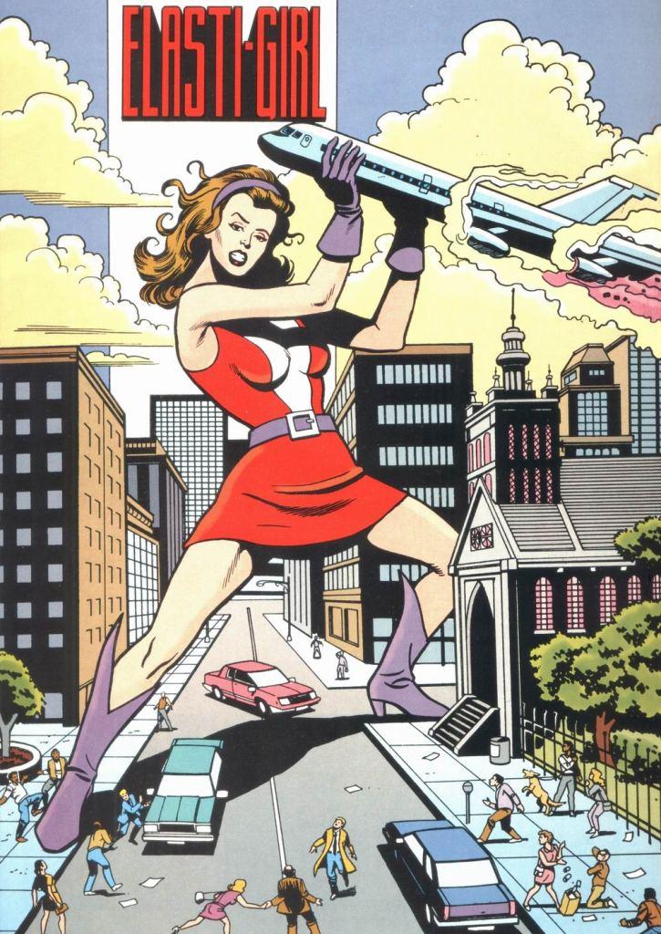 Who's Who in the DC Universe #12 - Elasti-Girl by Lorraine Raine Szramski, Alan Smithee, and Ty Templeton