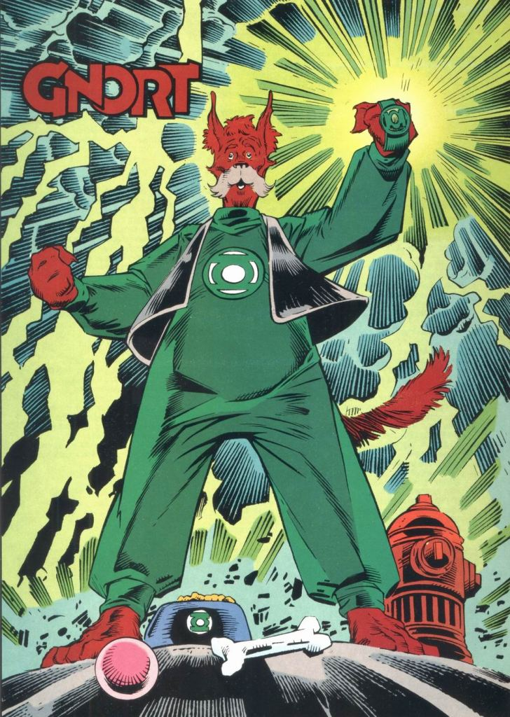 Who's Who in the DC Universe #12 - Gnort by Joe Staton and Mark Nelson