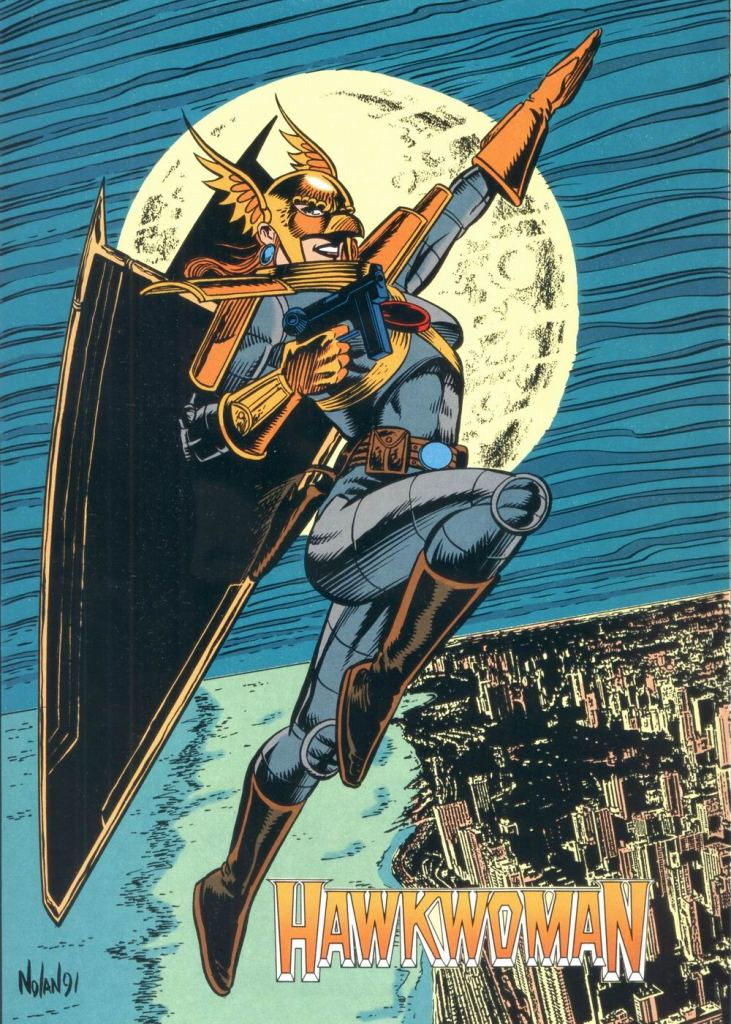 Who's Who in the DC Universe #12 - Hawkwoman by Graham Nolan