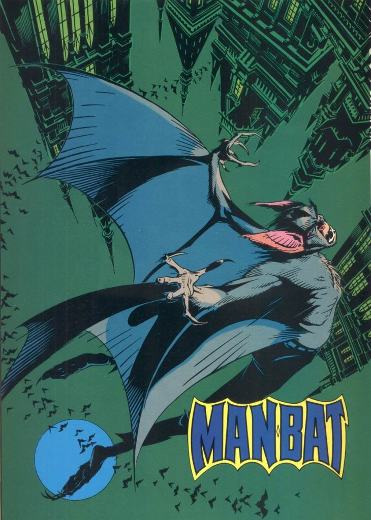 Who's Who in the DC Universe #12 - Man-Bat by Michael Golden