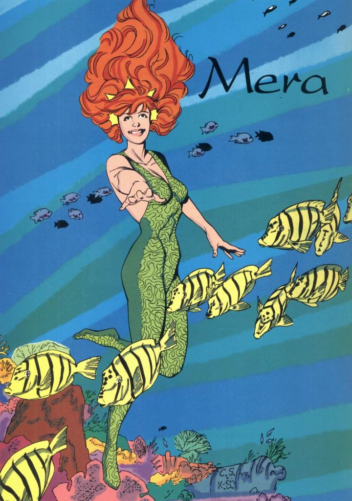 Who's Who in the DC Universe #12 - Mera by Chris Sprouse and Karl Story