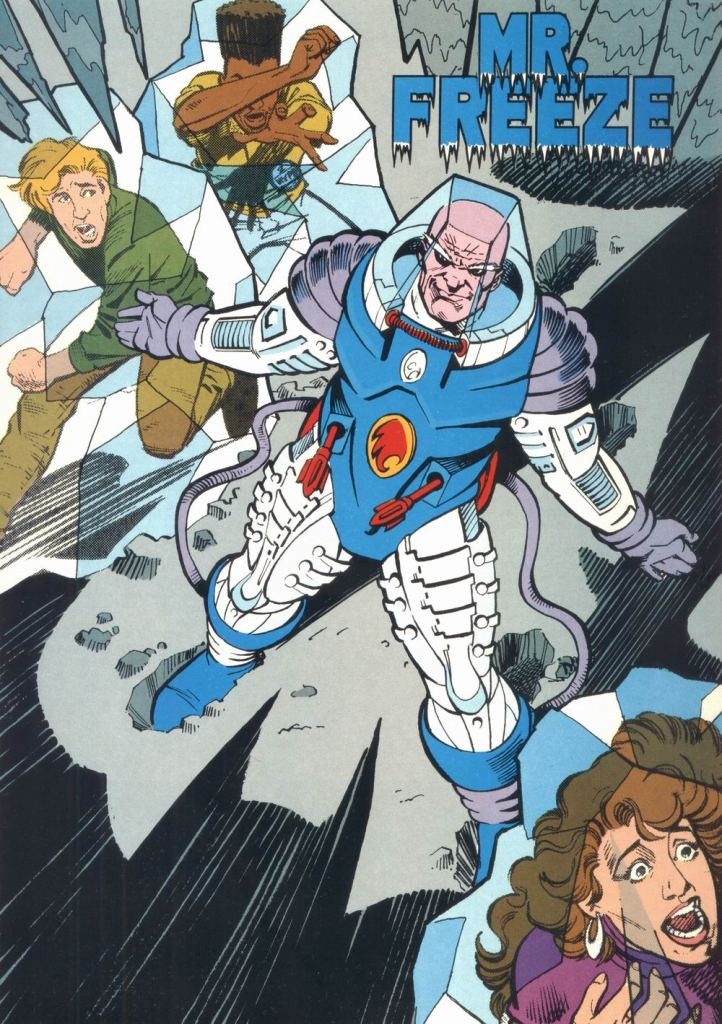 Who's Who in the DC Universe #12 - Mr. Freeze by David A. Williams and Dick Giordano
