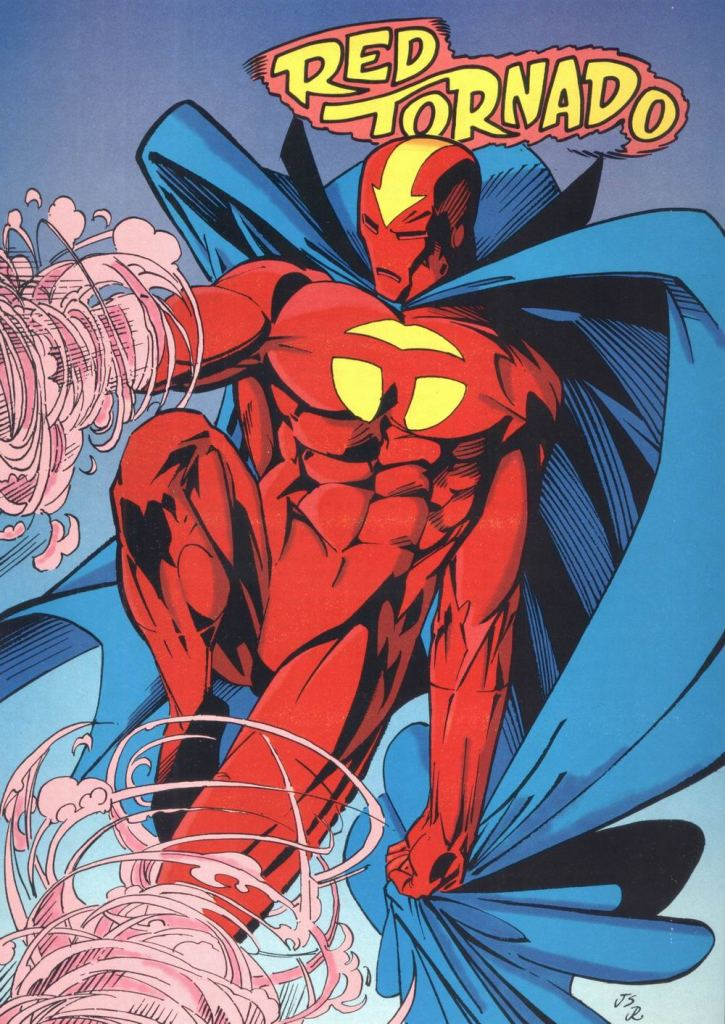 Who's Who in the DC Universe #12 - Red Tornado by Jason Pearson and Joe Rubinstein