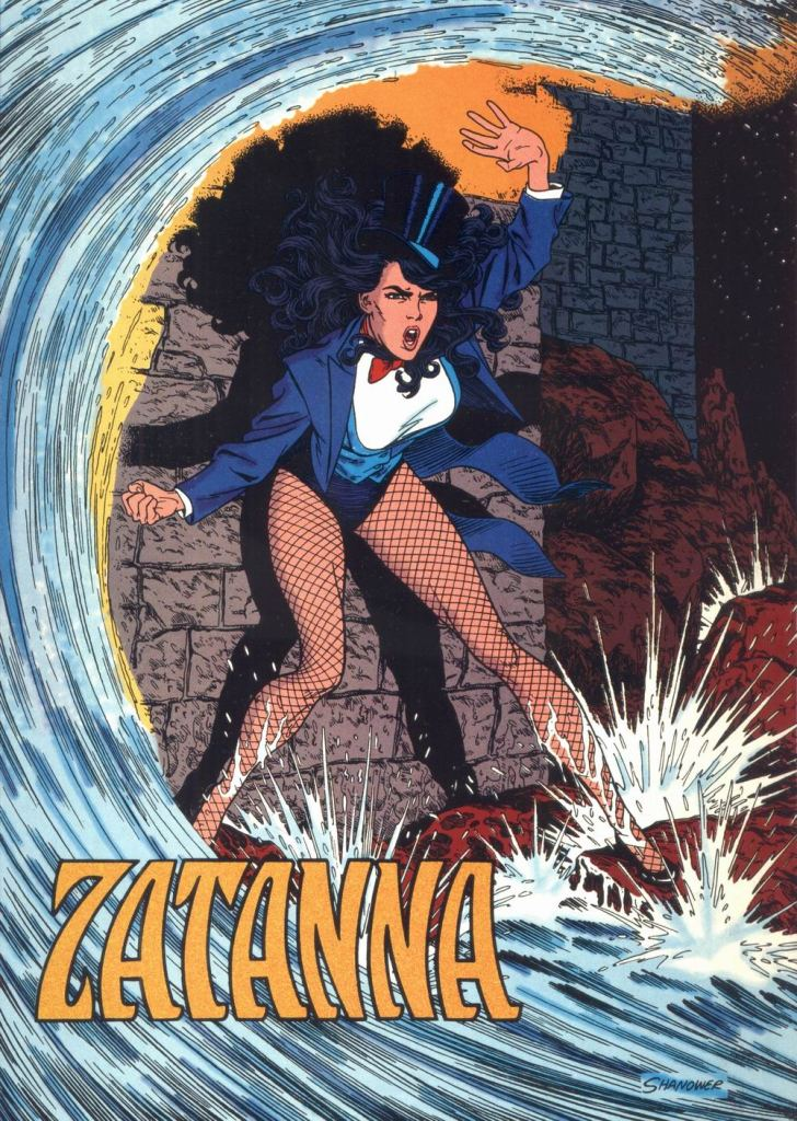 Who's Who in the DC Universe #12 - Zatanna by Eric Shanower